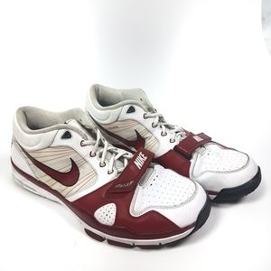 Nike Trainer 1 Flywire Red & White Sneakers